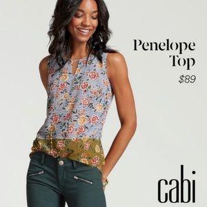 CAbi Penelope blouse floral